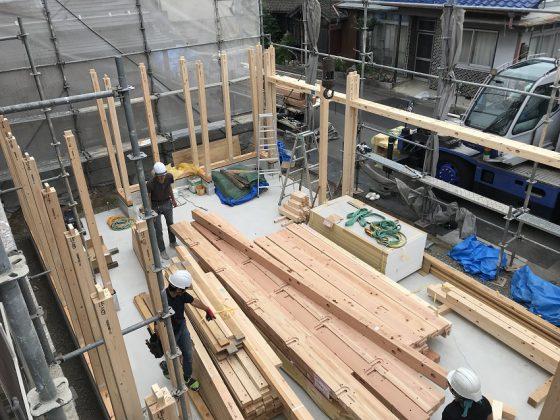 『手力のガレージ』建て方